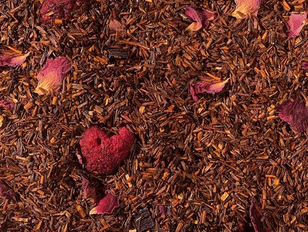 Raspberry Sherbet: Herbal Blend (Rooibos/Raspberries/Vanilla)
