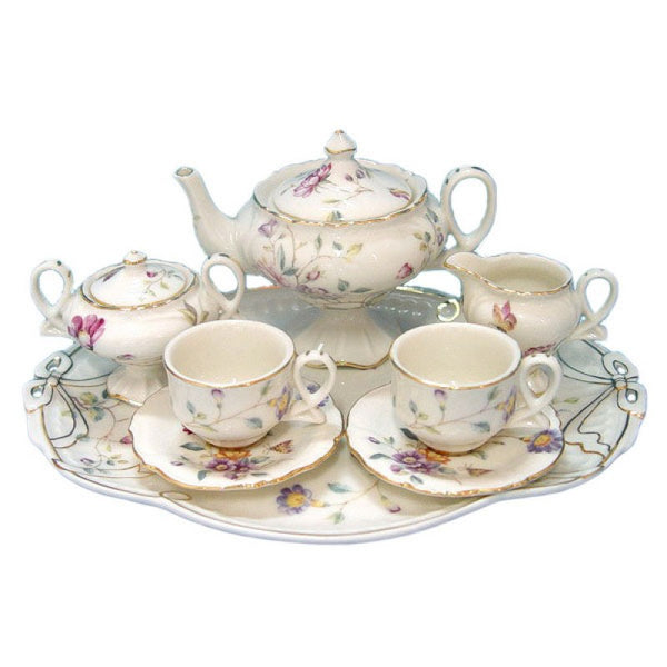 Sasha's Secret Garden 10 Piece Tea Set for Kids
