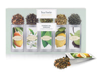 Tea Forte Essential Green Single Steep Assortment