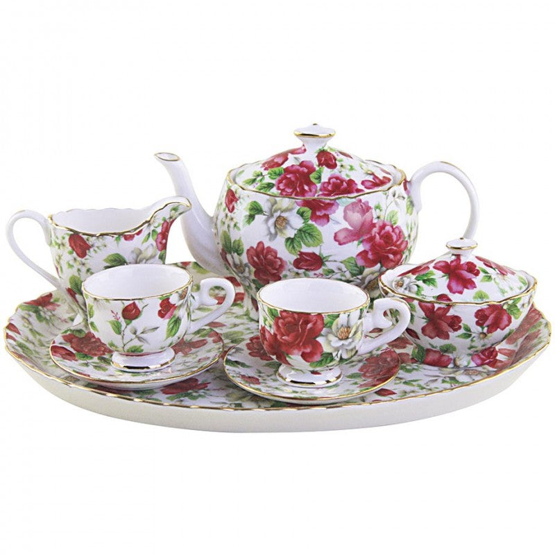 Pink Delight 10 Piece Tea Set for Kids