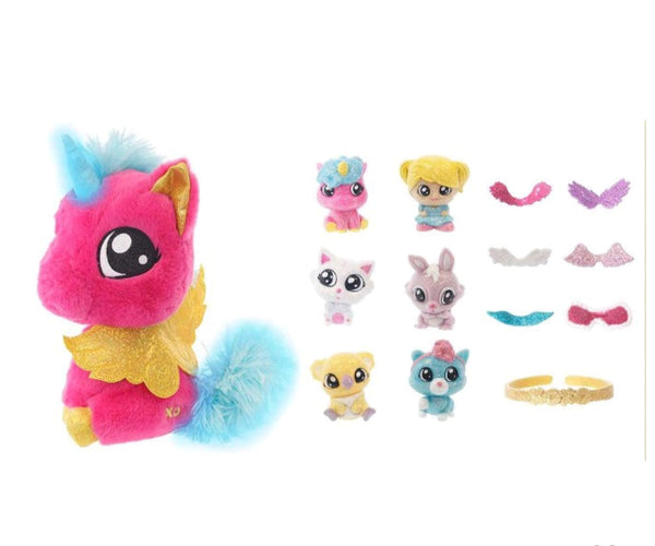 XOXO Light Up Unicorn Hugs Plush by Tic Tac Toy
