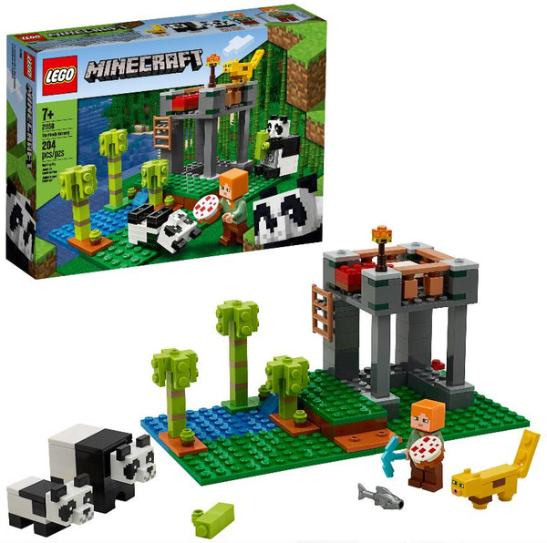 Lego Minecraft - The Panda Nursery (21158)