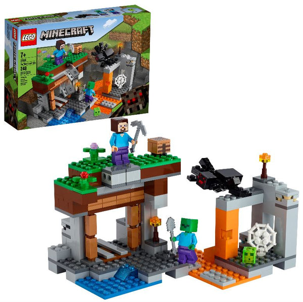 "LEGO Minecraft The ""Abandoned"" Mine (21166)"