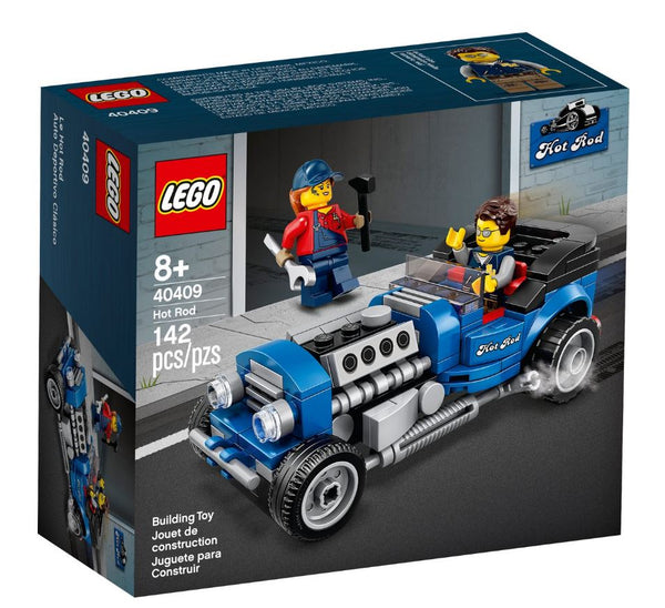 LEGO BLUE FURY hot rod set Speed Champions (40409) (25-year special replica edition)