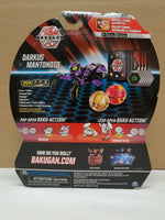 Bakugan Darkus Battle Planet - Mantonoid (rare) 3-pack Starter Pack