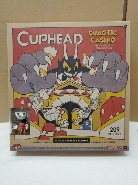 McFarlane CUPHEAD CHAOTIC CASINO CONSTRUCTION SET - 209 Pieces