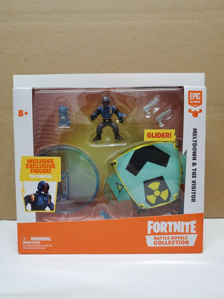 "Fortnite Meltdown Glider & The Visitor Battle Royale 2"" Action Figure New Sealed"