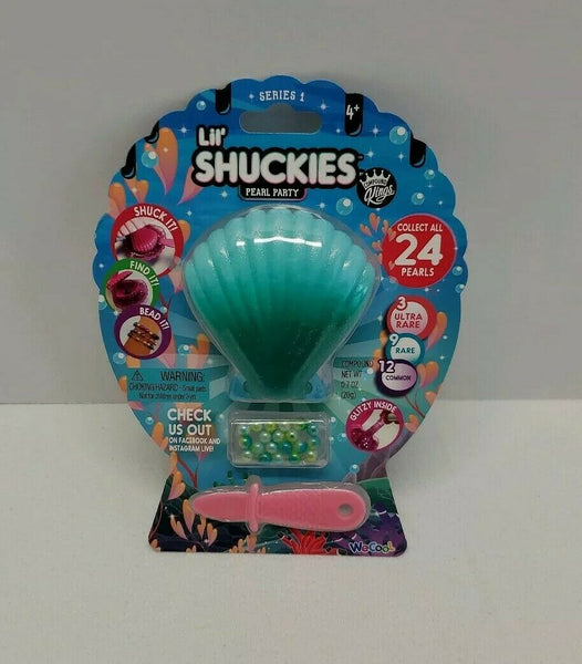 Lil Shuckies Pearl Party - Green Shell
