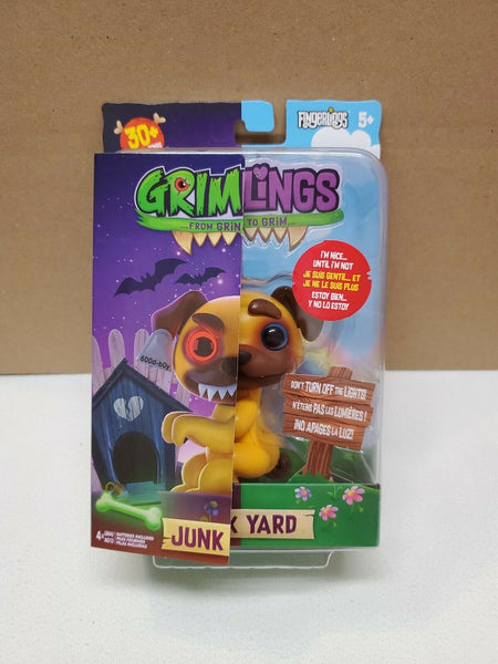 Fingerlings Grimlings- Junk Yard Dog Interactive Pet