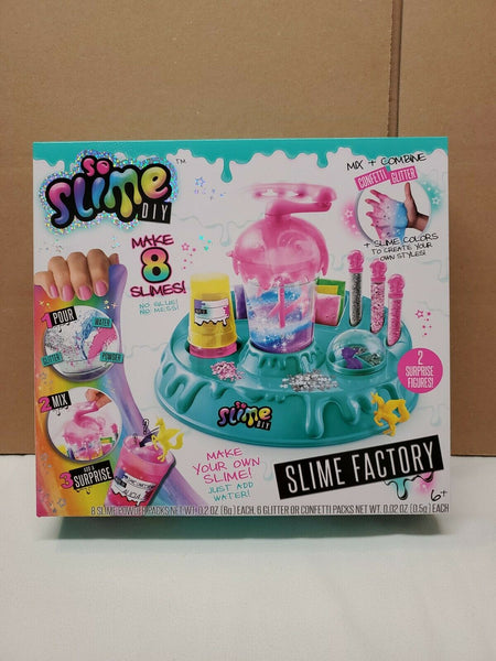 Slime Maker So Slime Glitter Confetti Slime Factory Kit No Glue No Mess!