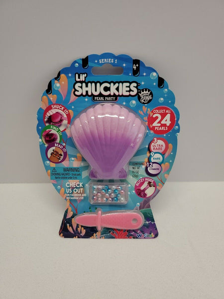 Lil Shuckies Pearl Party - Purple Shell