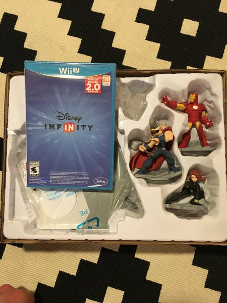 Disney INFINITY: Marvel Super Heroes (2.0 Edition) Starter Pack - Wii U - Used