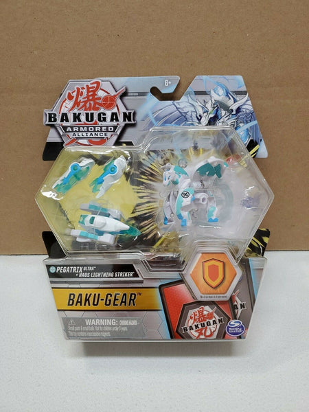 Bakugan Armored Alliance + Baku-Gear - Pegatrix Ultra Haos + Lightning Striker