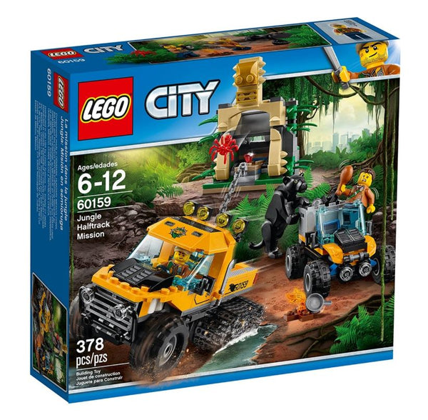 LEGO City (retired) - Jungle Halftrack Mission (60159)