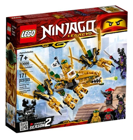 LEGO Ninjago - The Golden Dragon (70666) - *See Note*