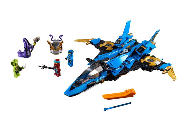 LEGO Ninjago Legacy - Jay's Storm Fighter (70668) - 490 pieces