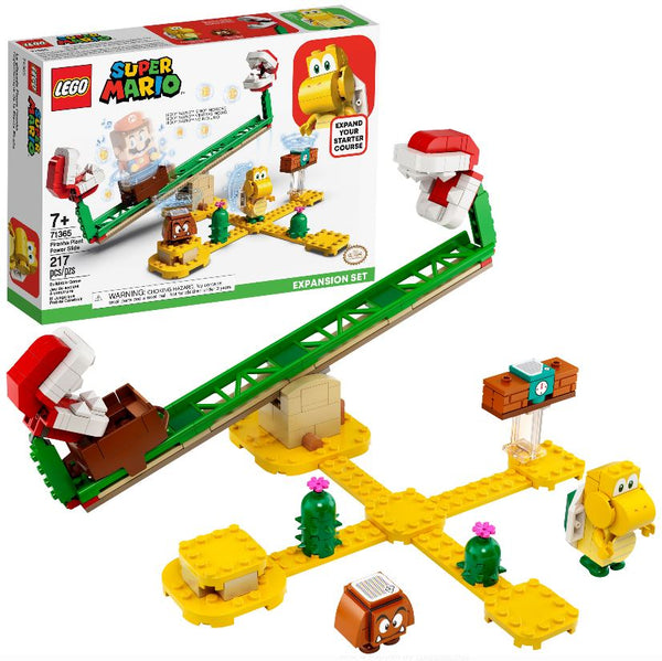 Lego Super Mario - Piranha Plant Power Slide Expansion Set (71365)