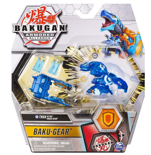 Bakugan Ultra, Aquos Trox with Transforming Baku-Gear, Armored Alliance