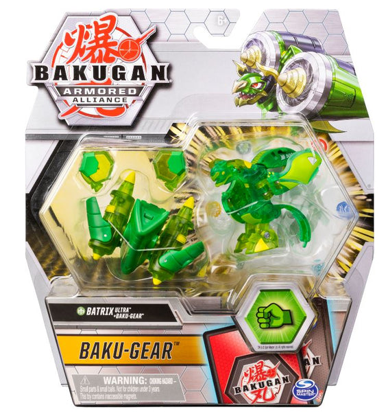 Bakugan Ultra, Batrix with Transforming Baku-Gear, Armored Alliance 3-inch Tall Collectible Action Figure