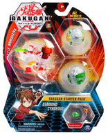 Bakugan Battle Planet - Rare Diamond Cyndeous Ultra Starter 3 Pack