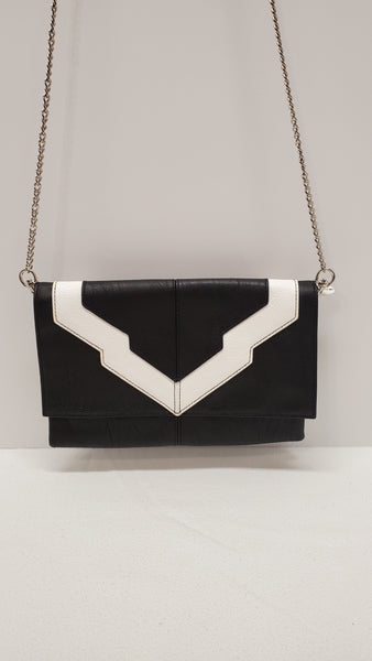 Miche Clutch - Black and White