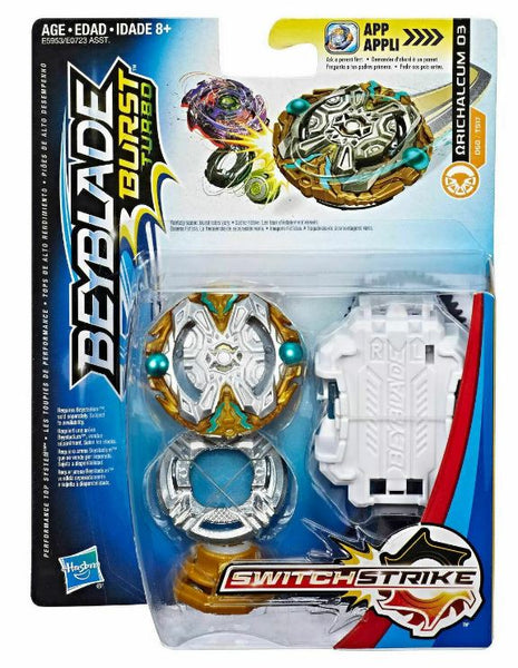 Beyblade Burst Turbo SwitchStrike Ωrichalcum Orichalcum O3 D60/TS17