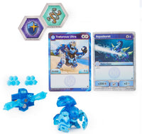 Bakugan Ultra, Aquos Tretorous with Baku-Gear, Armored Alliance - Translucent Blue