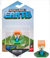 Mattel Minecraft Earth Figure Attacking Alex for NFC Chip Enabled For Play With Minecraft Earth Augmented Reality Mobile Device Game