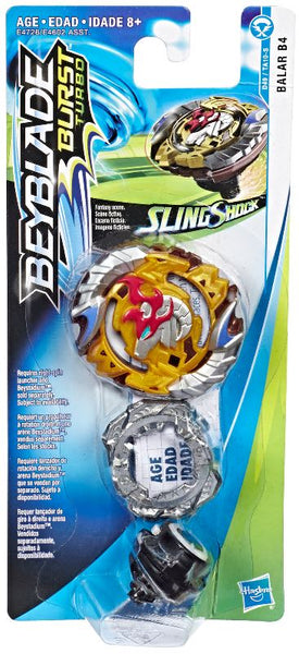 Beyblade Burst Turbo Slingshock Balar B4 Single