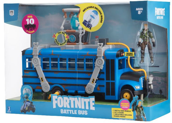 Fortnite Deluxe Battle Bus Vehicle