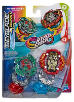Beyblade Burst Hypersphere Dual Pack - Includes 1 qty. Viper Hydrax H5 and 1 qty. Dullahan D5