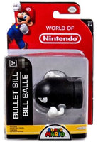 "World of Nintendo 2.5"" Bullet Bill Vinyl Figure - from the world of Super Mario"