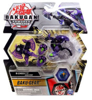 Bakugan Ultra, Darkus Eenoch with Transforming Baku-Gear, Armored Alliance 3-inch Tall Collectible Action Figure