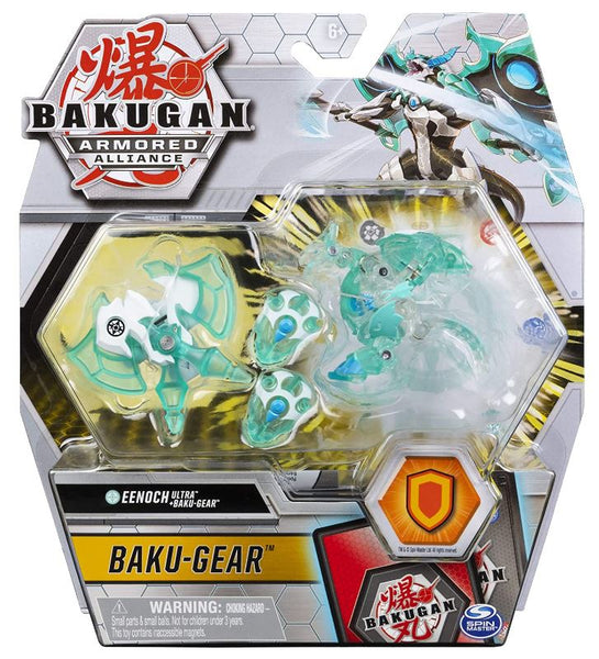 Bakugan Ultra + Baku-gear - Haos Eenoch - Translucent Aqua and Clear