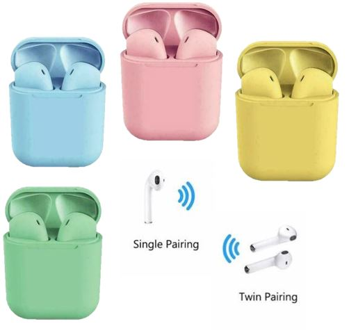 Bluetooth Wireless True Wireless Stereo Earbuds - Asst Colors - Unbranded