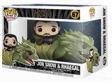 Funko POP! Rides: Game of Thrones - Jon Snow w/Rhaegal