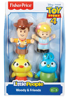 Little People Disney Pixar Toy Story Woody, Bo Peep, Ducky, & Bunny
