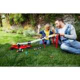 Hot Wheels MONSTER TRUCKS - Downhill Race and Go Playset