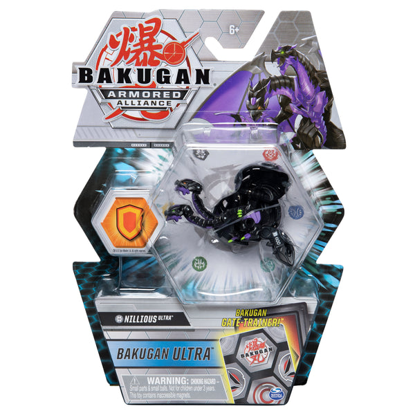 Bakugan Armored Alliance - Darkus Nillious Ultra