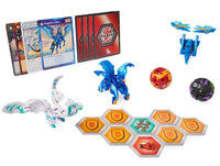 Bakugan Baku-Gear 4-pack Pegatrix Ultra with Baku-Gear and Nillious Ultra