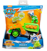 Paw Patrol - Rocky: Deluxe Vehicle with light and sound