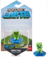 "Mattel Minecraft Earth ""Slowed Creeper"" Boost Mini Figure for NFC Chip Enabled For Play With Minecraft Earth Augmented Reality Mobile Device Game"
