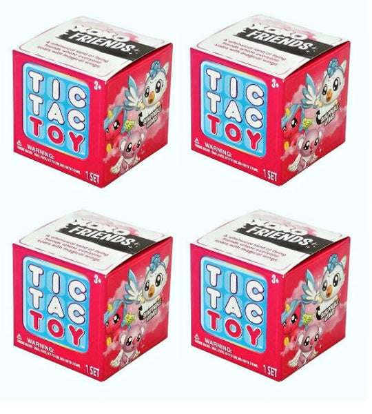 (Lot of 4) Tic Tac Toy XOXO Friends Mini Surprise Box