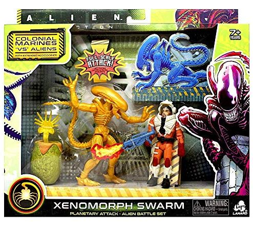 Alien - Xenomorph Swarm - Xenomorph Runner With Action Figure Set