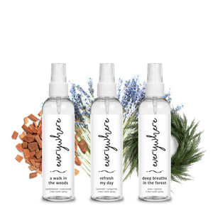 3.4oz On-the-Go Variety Bundle - Woods, Refresh, Deep Breaths