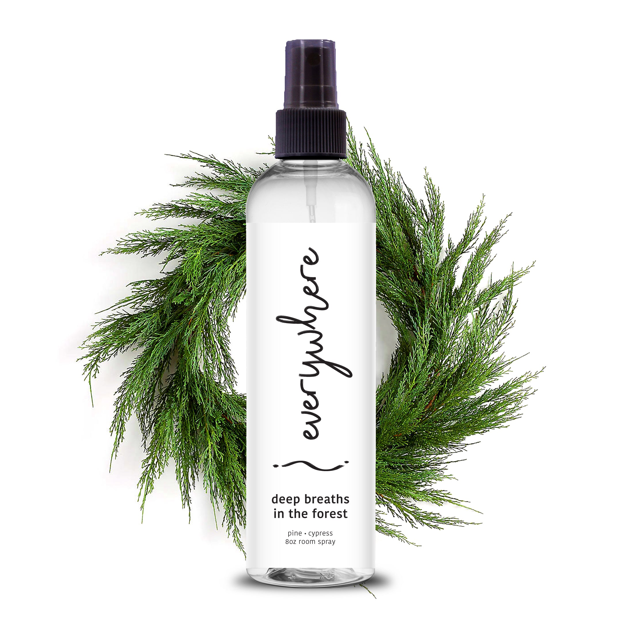 Deep Breaths in the Forest Room Spray & Aromatherapy