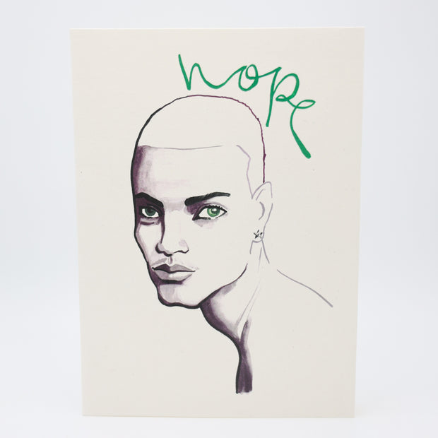 HOPE 1 Greeting Card - Jayson Brunsdon Home