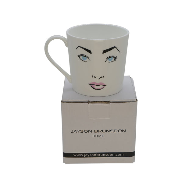 GLAMOROUS - SET OF 3 ART MUGS - Jayson Brunsdon Home