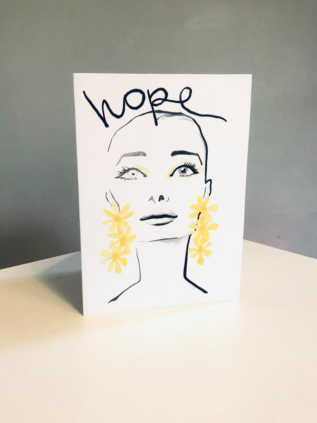 HOPE 2 Greeting Card