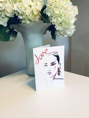 LOVE 1 Greeting Card